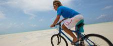 Ladies biking