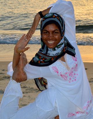 Yoga Retreat teacher Ayda
