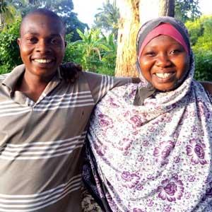 Man och fru- Rama och Warda
