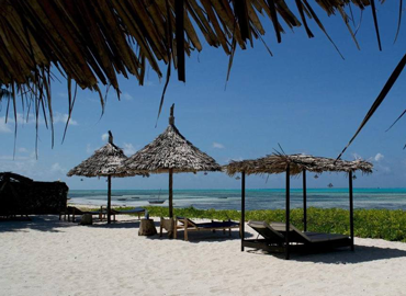 On this solo travel to Zanzibar we stay at Bliss Beach Lodge, straight on the beach