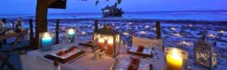 UNderbar stämning på Upendo Zanzibar, en av de bästa restaurangerna