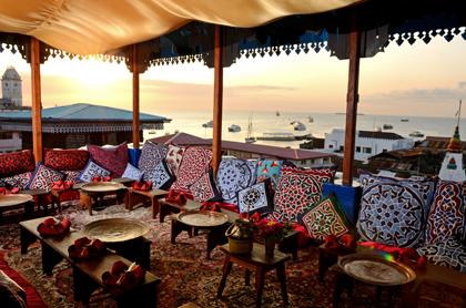 Taste Zanzibarmiddag på takterass