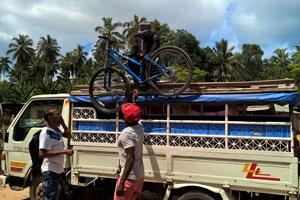 Kryddtur på cykelpå Zanzibar