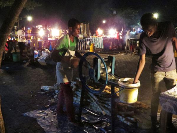 Forodhani Park iStone Town- en av de bästa matupplevelserna