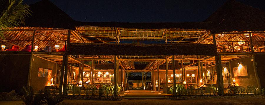Mwezi är en av de mysigaste restaurangerna på Zanzibar