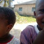 Sun sea and sand_Jambiani children