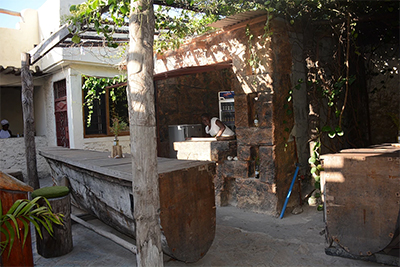 The bar at Nashe´s café Bagamoyo